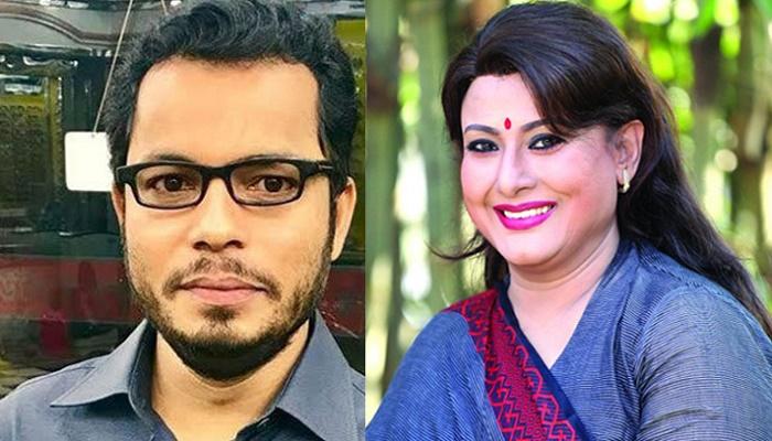 সুচরিতাকে শুটিং স্পটে লা'ঞ্চিত করলেন রফিক শিকদার
