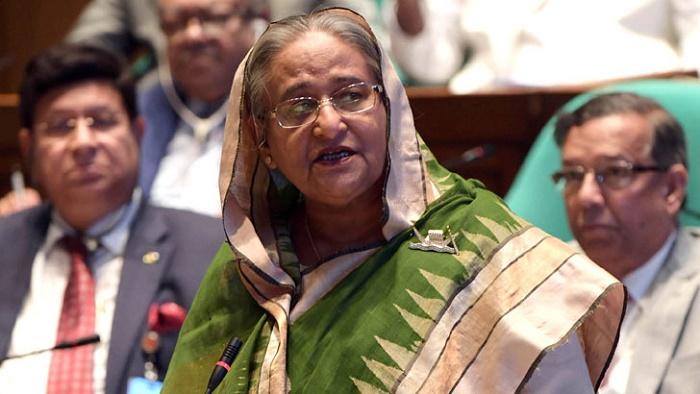 বাংলাদেশ সমৃদ্ধির পথে হাঁটছে: সংসদে প্রধানমন্ত্রী