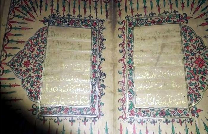 ভারতে পাওয়া গেলো মুঘল আমলের স্বর্ণে লেখা কুরআন