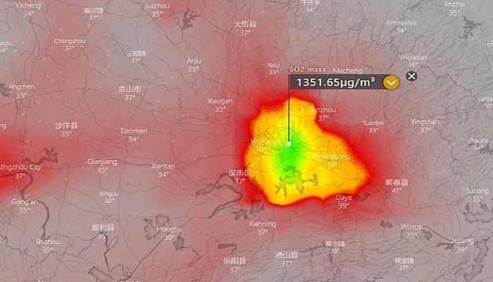 ব্যাপক ম'র'দে'হ পোড়ানোর আলামত মিলেছে চীনের বাতাসে