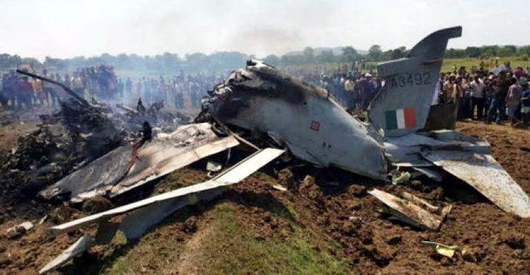 গোয়ায় ভারতীয় নৌবাহিনীর যুদ্ধবিমান বিধ্বস্ত
