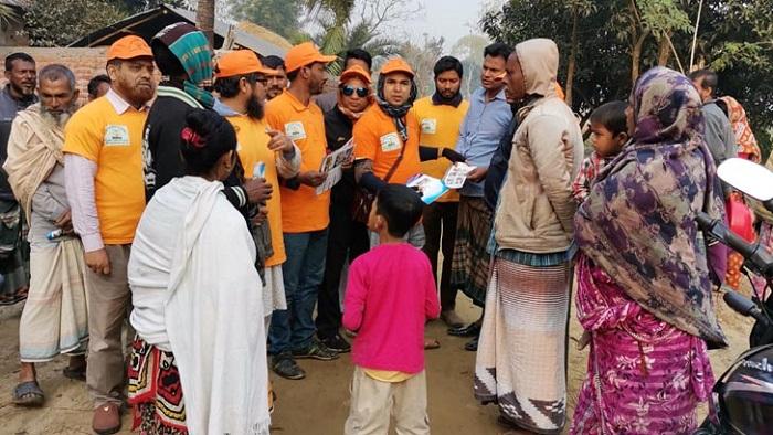 পাখি শি'কারীকে ধরিয়ে দিলেই পাবেন শীতবস্ত্র!