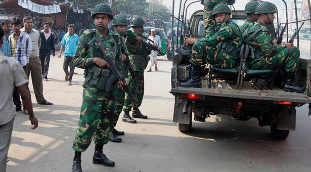 জেলায় জেলায় নামল সেনাবাহিনী