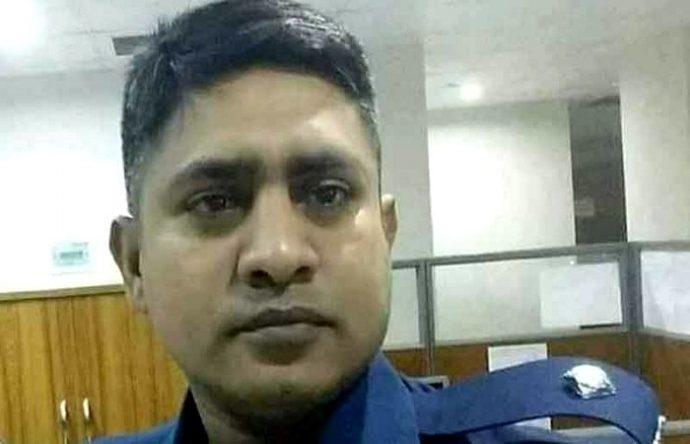 করোনায় প্রাণ দিলেন পুলিশ কর্মকর্তা রাজু