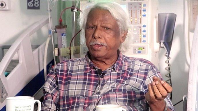 ডা. জাফরুল্লাহ দ্বিতীয়বারের মতো প্লাজমা থেরাপি নিলেন