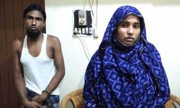 মা'দকবিরোধী অ'ভি'যানে গ্রে'প্তার স্বামী-স্ত্রী