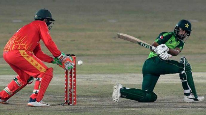 জিম্বাবুয়ে ০-১৪ পাকিস্তান
