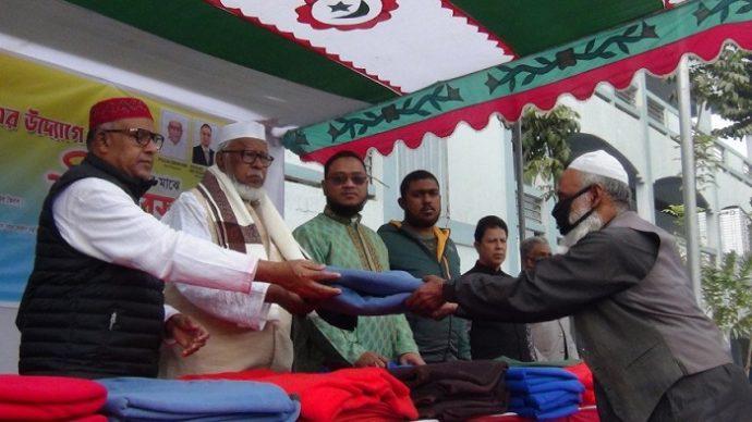 ভৈরবে রোটারি ক্লাবের উদ্যোগে কম্বল বিতরণ