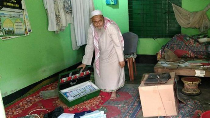সিন্দুক ভেঙে মসজিদের টাকা চুরি