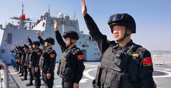 সক্ষমতায় বিশ্বের বৃহত্তম নৌবাহিনী এখন চীনের