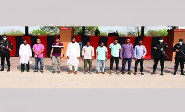 গ্রে'প্তা'রের ১০ দিনের মধ্যেই জামিনে মুক্ত ক'রো'না কিট জালি'য়াতি চ'ক্রের সদস্যরা