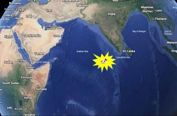 ভারত মহাসাগরে পড়লো চীনা রকেটের ধ্বংসাবশেষ