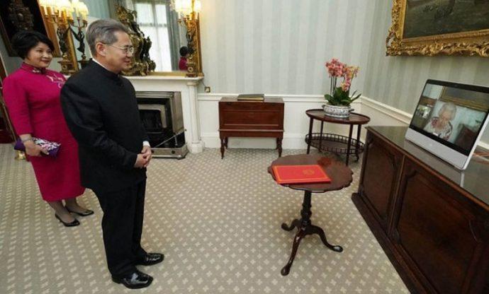 চীনা রাষ্ট্রদূত ব্রিটিশ পার্লামেন্টে নিষিদ্ধ